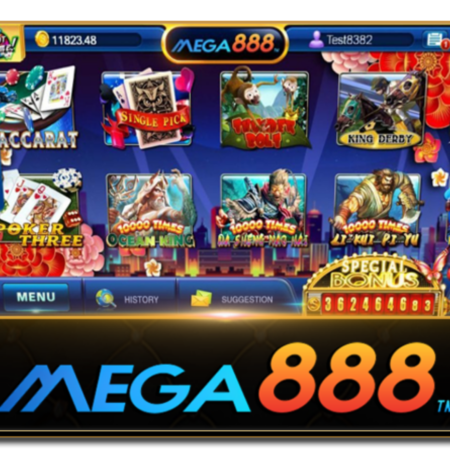 Mega888 web casino trick and let's discover it